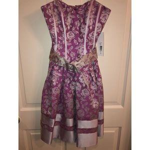 Badgley Mischka heart shape dress